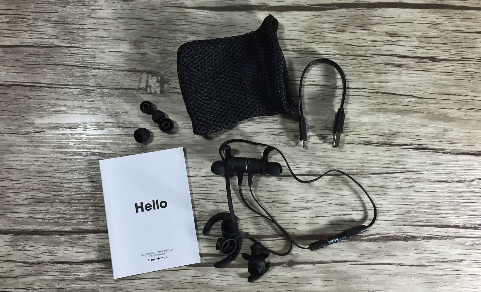 Bluetooth Kopfhörer TT-BH07 Lieferumfang