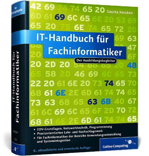 Foto: IT Handbuch für Fachinformatiker - ohne Prüfungsfragen