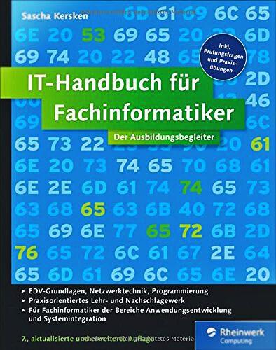 Foto: IT Handbuch für Fachinformatiker mit Prüfungsfragen
