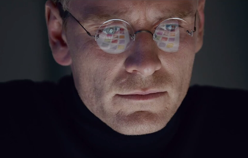 Michael Fassbender als Steve Jobs