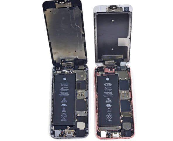 Akku des iPhone 6 und des iPhone 6s im Vergleich