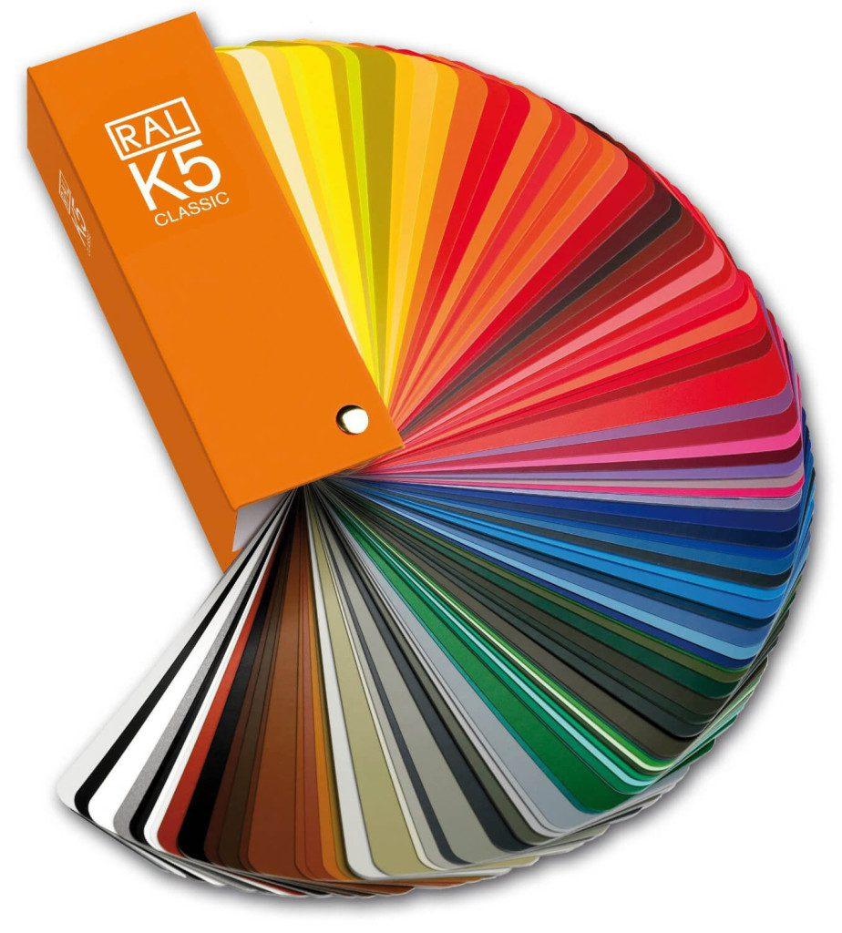 Foto von RAL K5 seidenmatt RAL Farbfächer