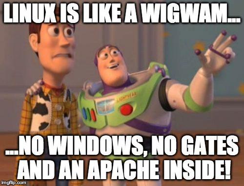 Linux Witze und Sprüche über das Linux Betriebssystem