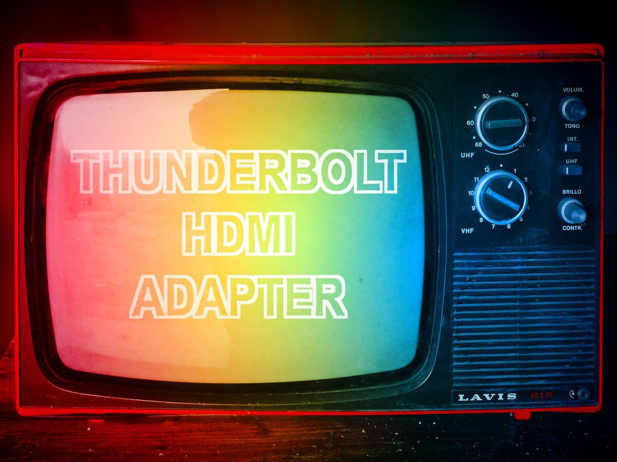 Thunderbolt HDMI Adapter für den Mac