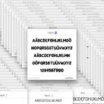 Anleitung: Mehrere Schriftarten (Fonts) unter Mac OS X auf einmal installieren