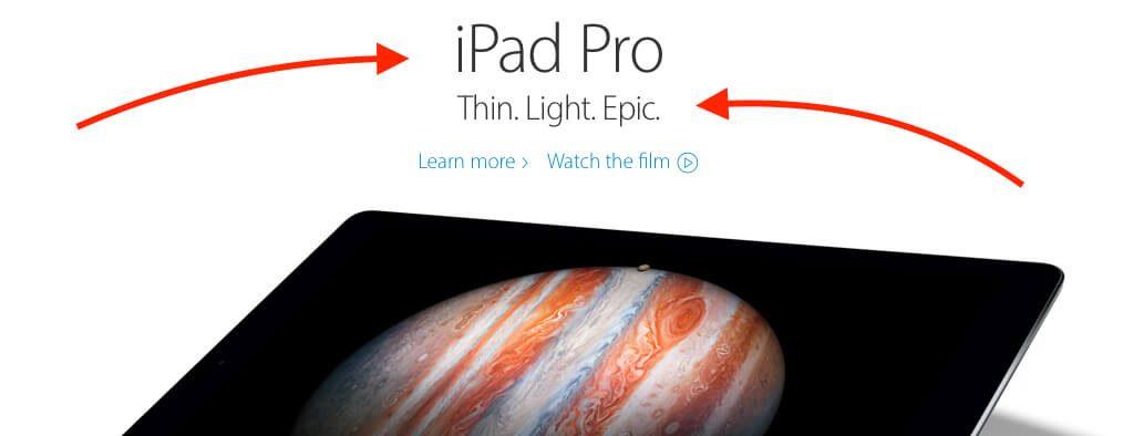 Myriad Pro Set auf der Apple Webseite