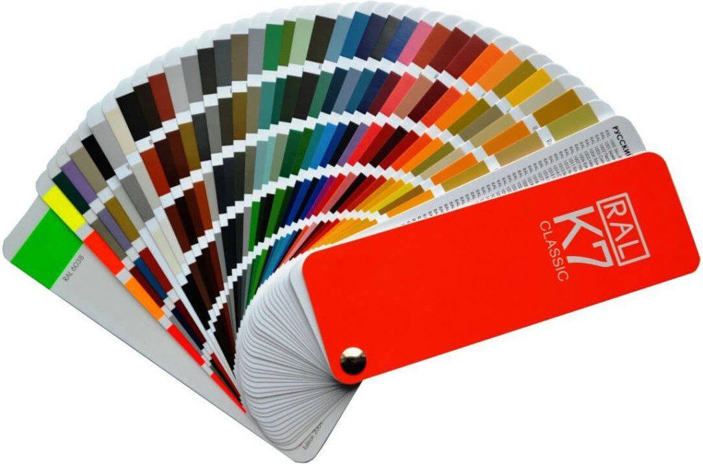 RAL K7 Farbfächer Foto