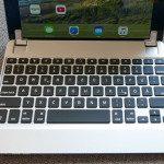 Foto des Brydge Air Keyboards von oben