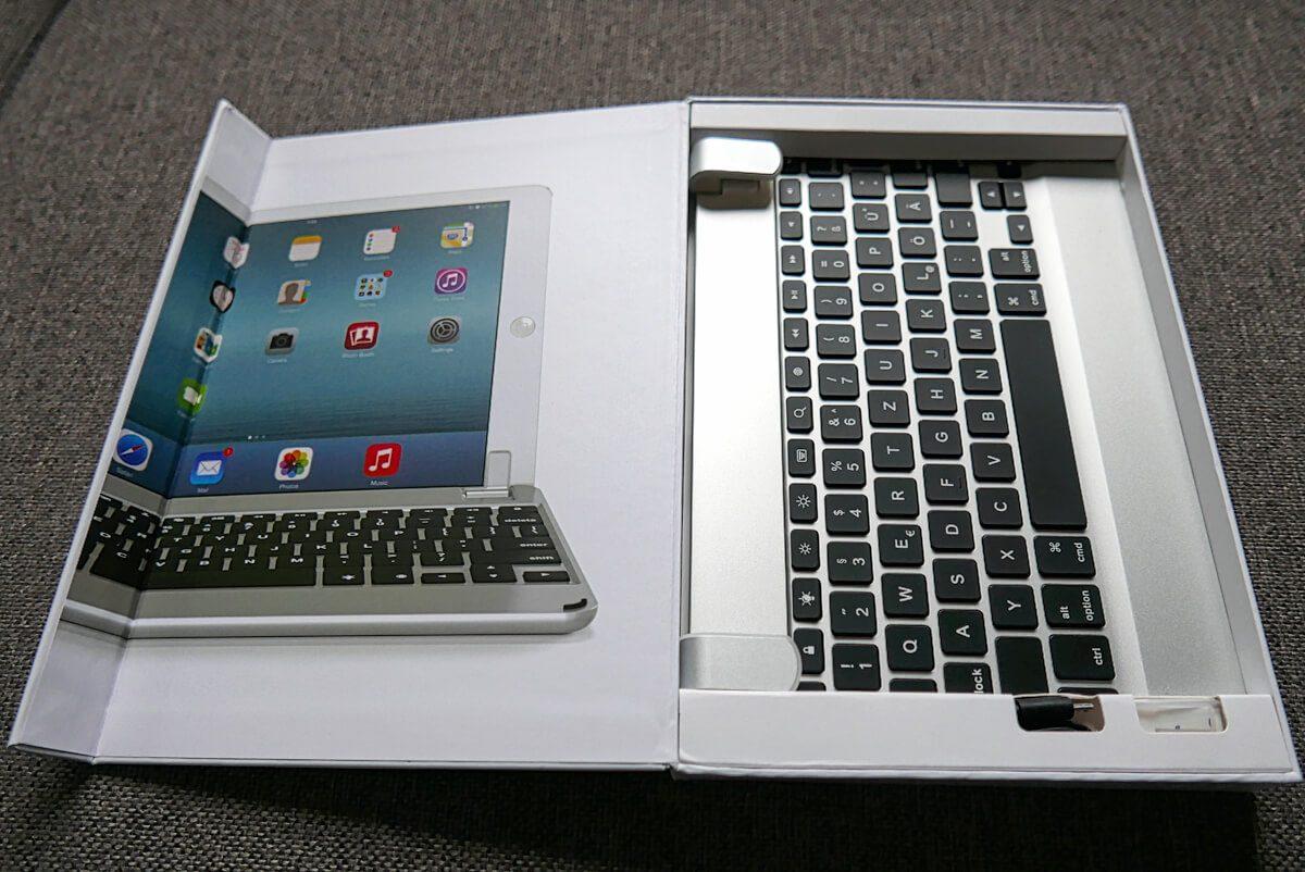 Schon die Verpackung des Brydge Air Keyboard ist sehr ansprechend gestaltet