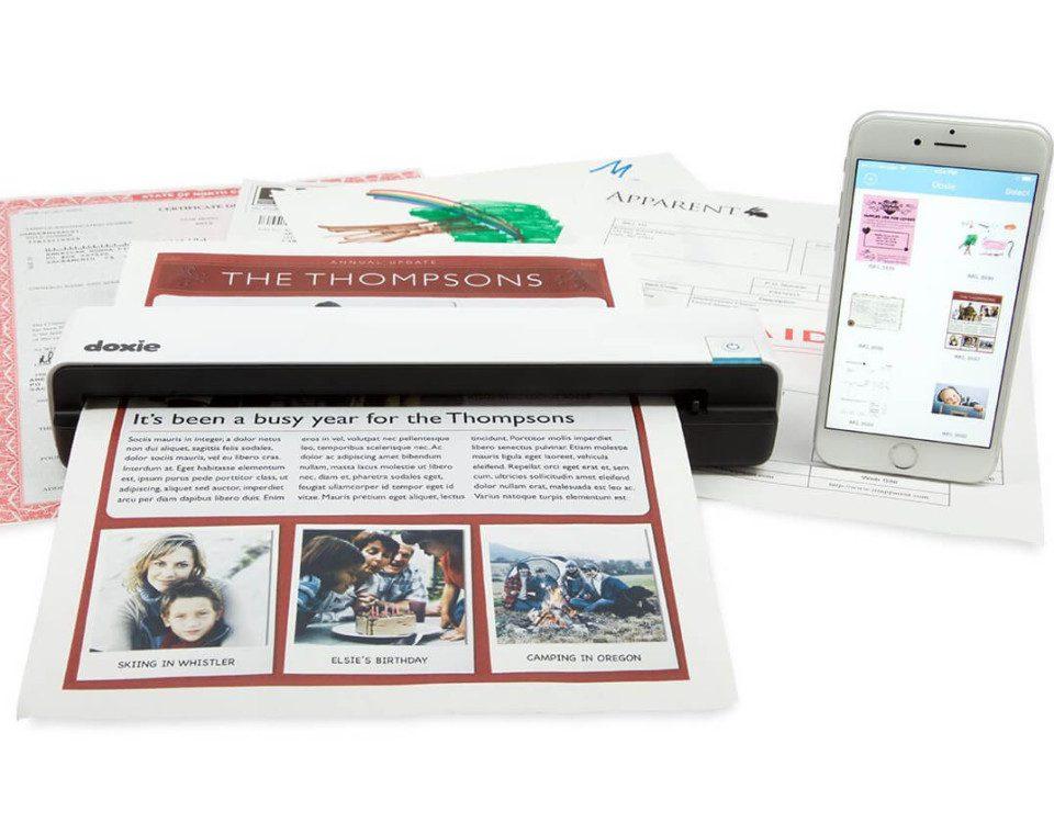 Doxie Go Wi-Fi für Mac, iPhone und iPad