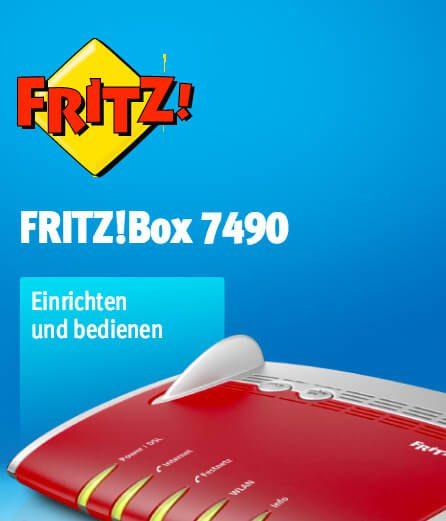 Das Fritz!Box 7490 Handbuch als PDF findet man bei avm.de.