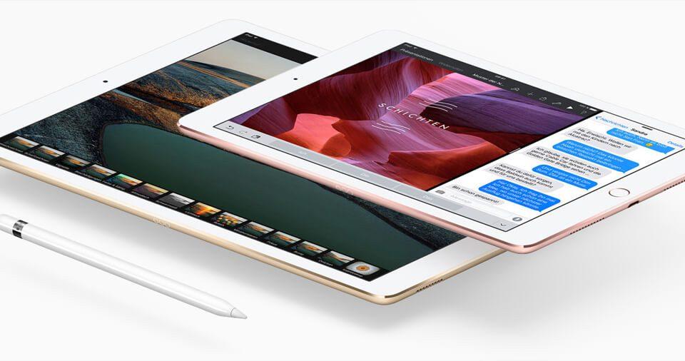 iPad Pro groß und klein