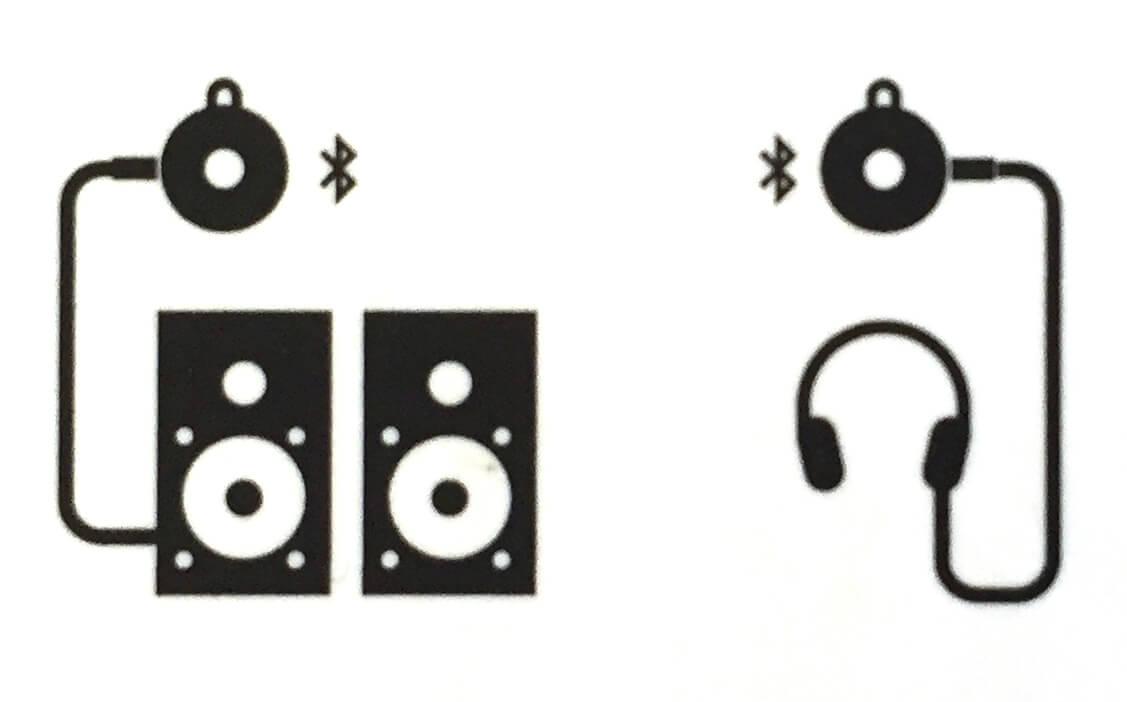 ACME BAT 3,5 mm Klinken Ausgang für Kopfhörer und Verstärker