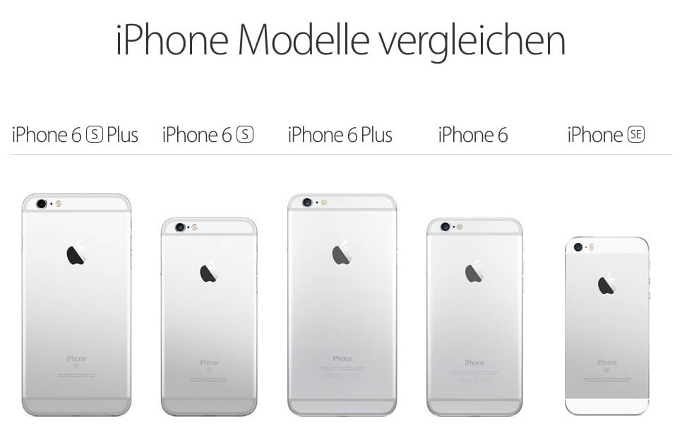 i phone vergleich