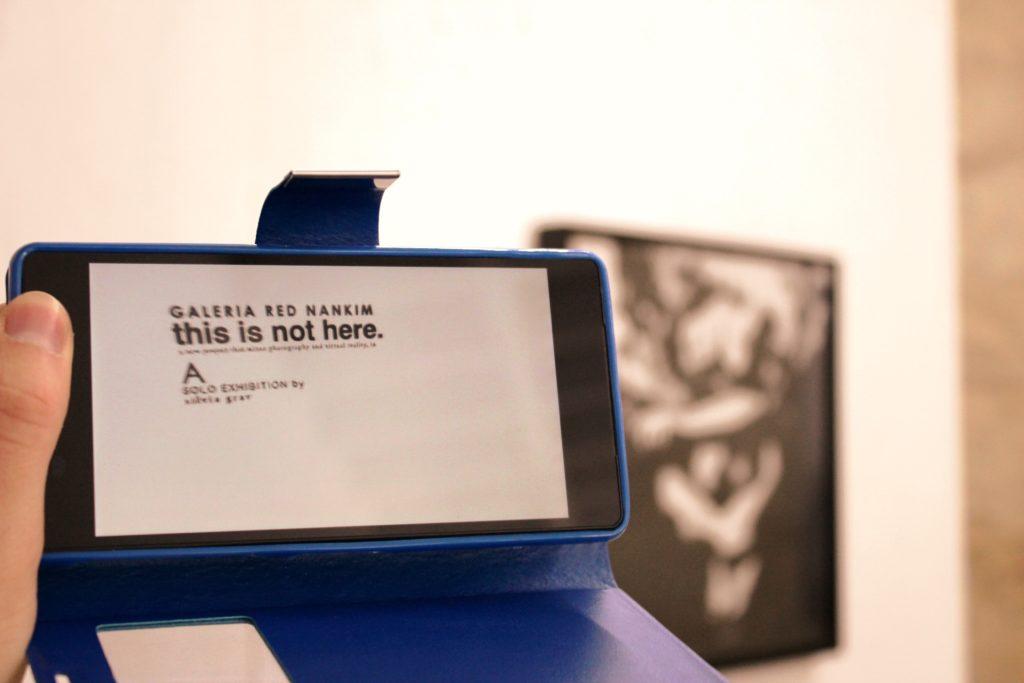 Ankündigung der Ausstellung im 360°-Video