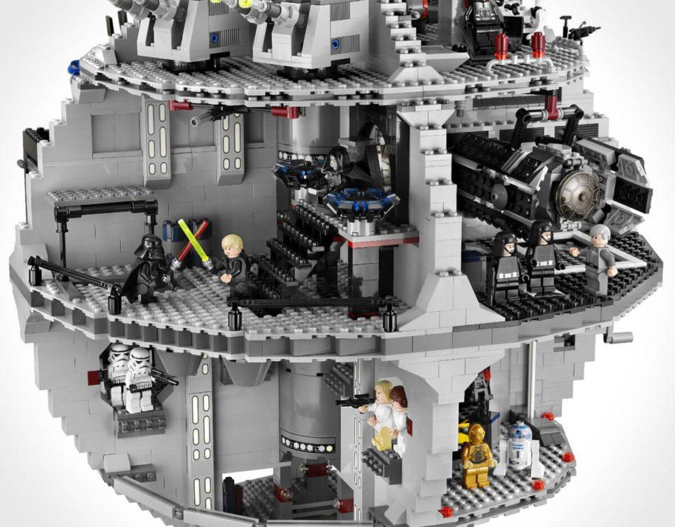 Lego Star Wars Todesstern 10188 Innenansicht