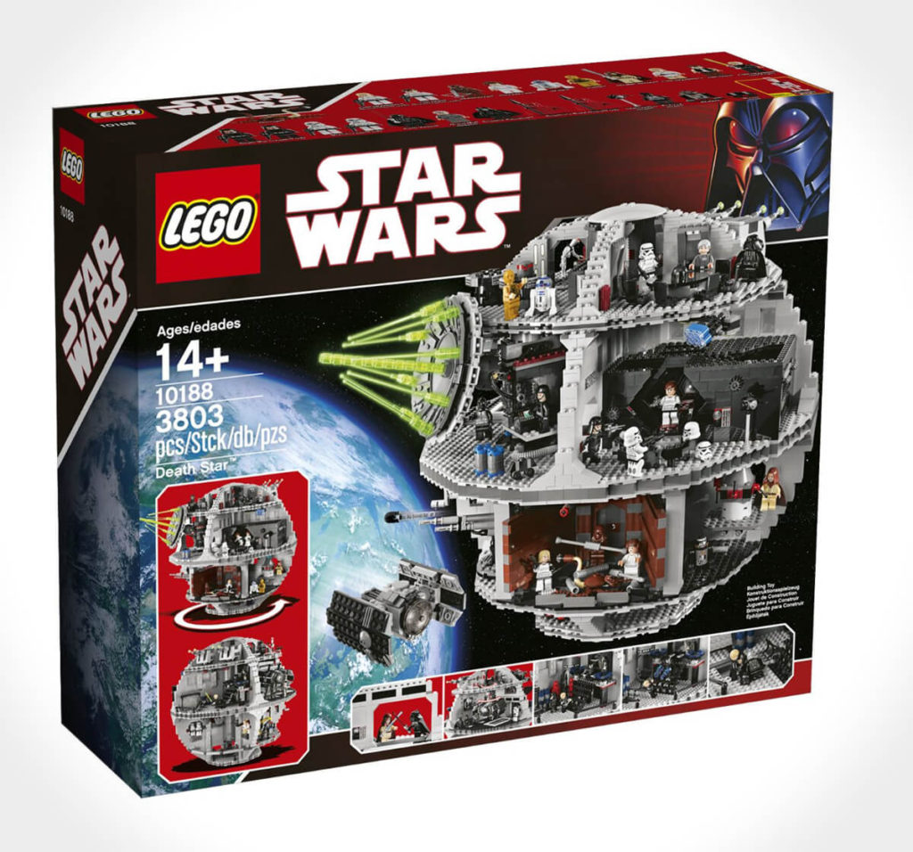 Lego Star Wars Todesstern 10188 Packung