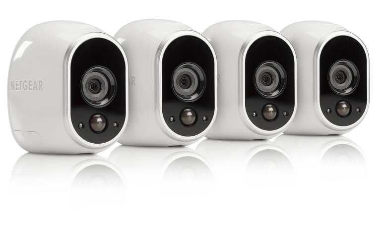 Netgear Arlo – kabellose HD Überwachungskamera: Betrieb mit Batterien oder Akkus möglich