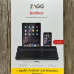 Im Test: umschaltbare Bluetooth Tastatur ZAGG Limitless für Mac, iPad und iPhone