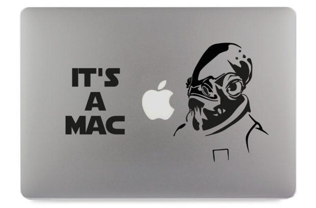 It's a Mac Aufkleber fürs MacBook