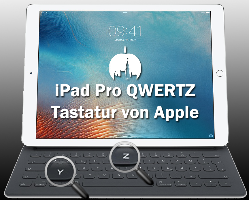 iPad Pro QWERTZ Tastatur von Apple