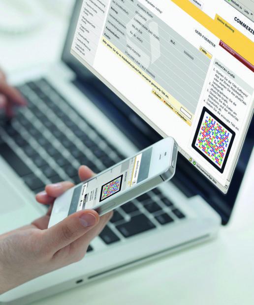Verwendung der photoTAN App der Commerzbank