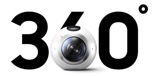 Samsung Gear 360 Rundum-Kamera