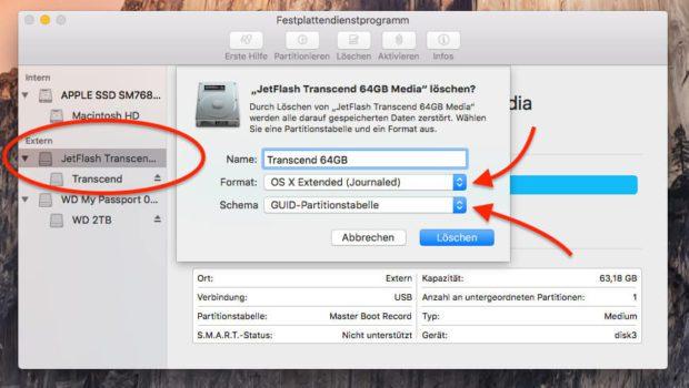 Bootfähigen USB Stick am Mac erstellen. macOS Sierra vom USB Stick installieren, Anleitung, Ratgeber, Bilder