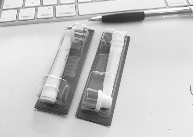 Apple Airpods Kopf elektrische Zahnbürste