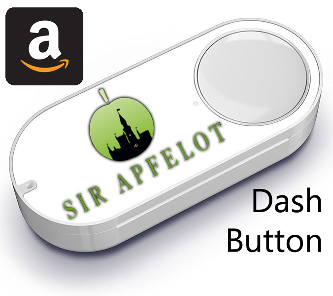 Sir Apfelot Dashbutton - Amazon Dash Button