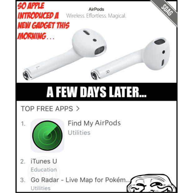 Apple Airpods Twitter - Spott und Hohn