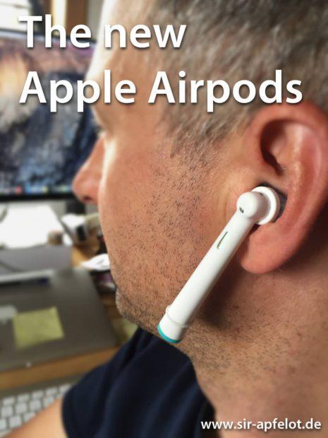 Lustig: Zahnbürstenköpfe als Apple AirPods Ersatz