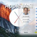 Probleme mit Apple Mail nach dem Update auf OS X 10.11 El Capitan