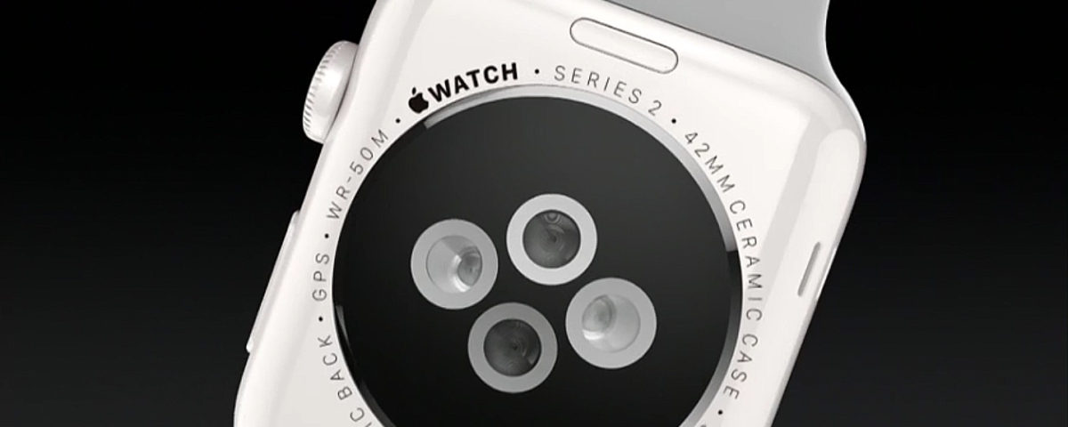 Apple Watch Series 2 aus Keramik