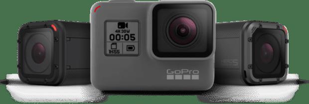 gopro hero5 black session vergleich compare technische daten datenblatt unterschied