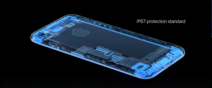 IP67 for iPhone 7 and iPhone 7 Plus