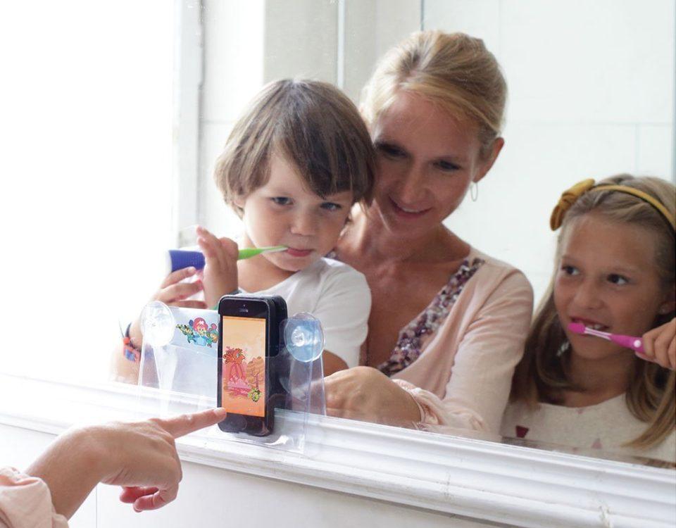 playbrush brushing teeth kids app toothbrush game