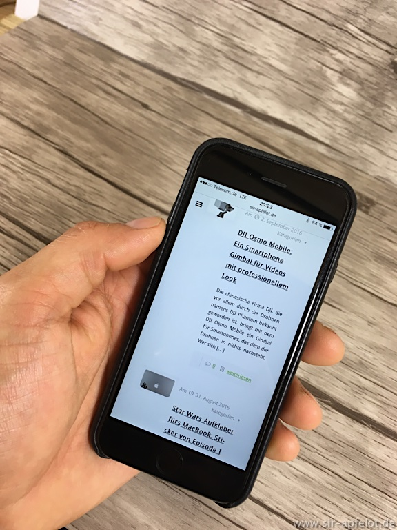 test iphone 6 6s lederh lle von stilgut leder case in. Black Bedroom Furniture Sets. Home Design Ideas