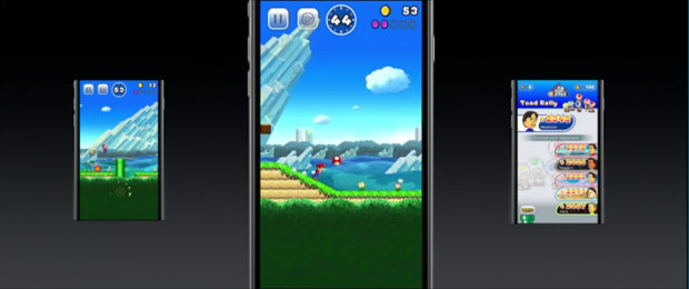 Nintendo Super Mario Run kommt als iOS App aufs iPhone 7 (Plus)