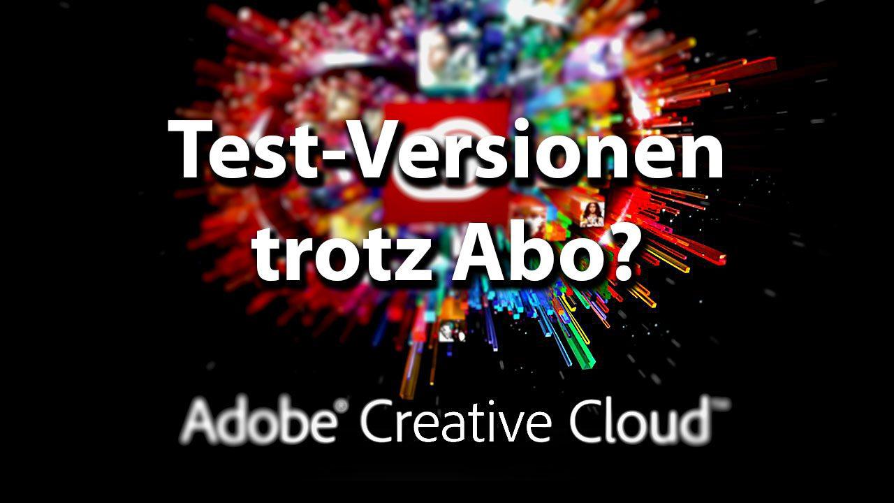 Adobe Creative Cloud bietet trotz aktivem Abo nur Demoversionen zum Testen an? Hier die Lösung!
