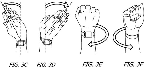 apple us patent apple watch series 3 gestensteuerung handgesten handgelenk bewegung steuerung watchos 4