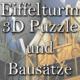 eiffelturm 3d puzzle metallbausatz