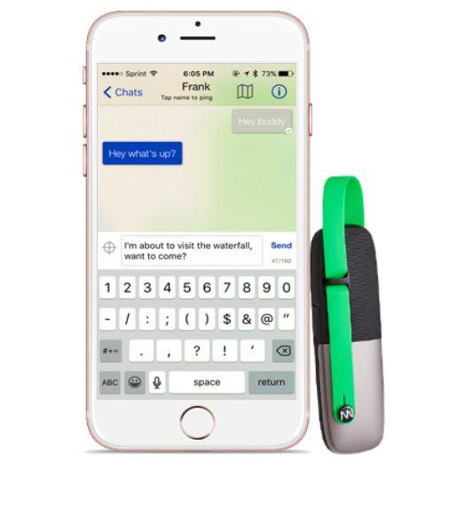 gotenna mesh datenblatt vergleich modelle neu 2016 kickstarter nachrichten ohne netz wifi mobilfunk eigenes handynetz
