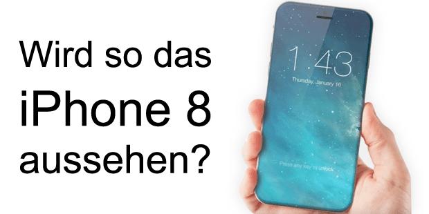 iphone 8 2017 konzept display fingarabdruck sensor apple patent 2016