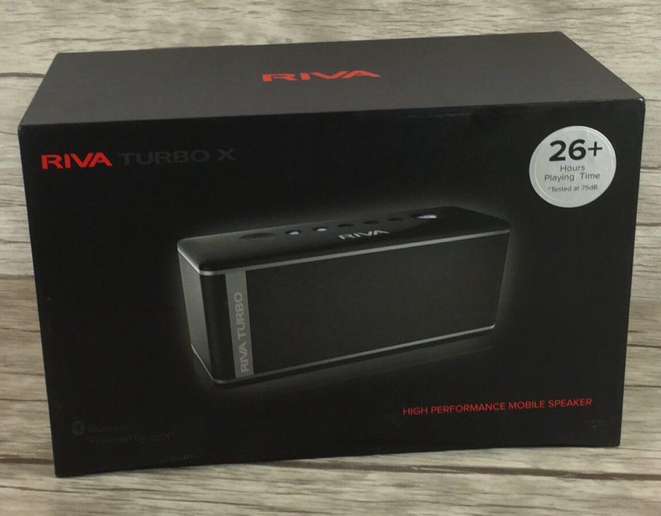 Packshot: So sieht die Verpackung des RIVA Turbo X aus.