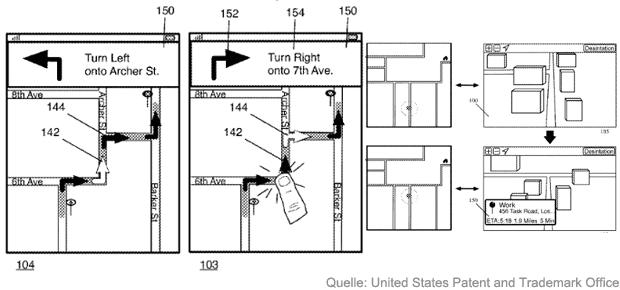 apple maps routen 3d ansicht pfeile wege anzeigen