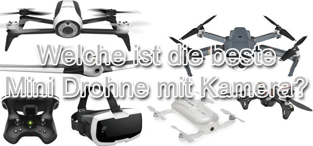 Welche ist die beste Mini-Drohne mit Kamera 2016 2017? Der Vergleich von verschiedenen Mini Quadrocopter Modellen bringt die Antwort. Produktbilder: Amazon