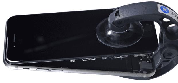 iphone 6 oeffnen ifixit akku ausbauen