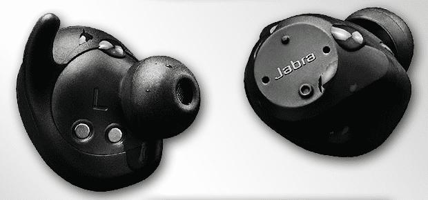 An dem Foto kann man oben die Mini-LED für die Pulsmessung erkennen. Die Kupferkontakte sind vermutlich für das Laden der Kopfhörer (Foto: Amazon).