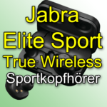 Jabra Elite Sport True Wireless: Kabellose Bluetooth-Sportkopfhörer
